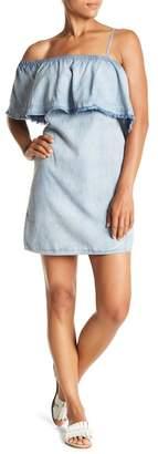 Do & Be Do + Be Frayed Ruffle Dress