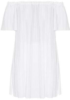 ADAM by Adam Lippes Off The Shoulder Tunic Top - Womens - White