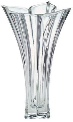 Mikasa Florale Crystal Vase