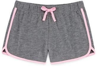 Arizona Knit Match Back Shorts Girls 4-16 and Plus