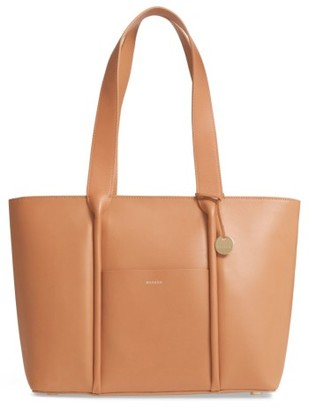Skagen Lisabet Leather Tote - Brown $295 thestylecure.com