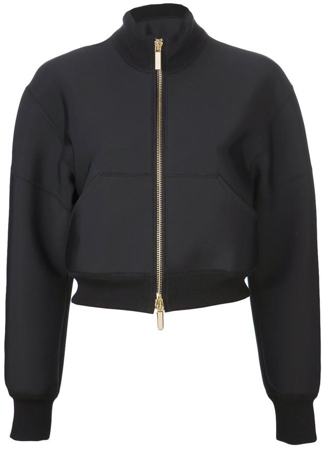 Ungaro Crop bomber jacket