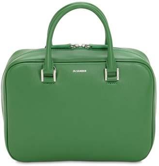 Jil Sander Small J Vision Leather Hand Bag