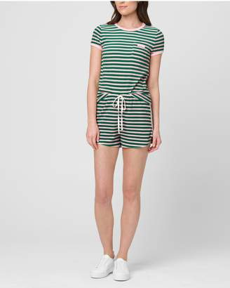 Juicy Couture STRIPED MICROTERRY TEE