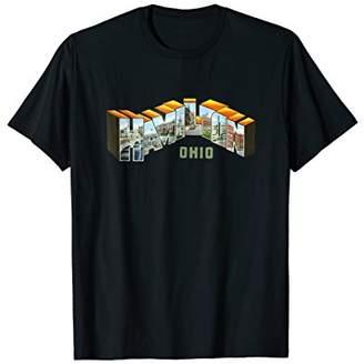 Hamilton Ohio T Shirt Retro Vintage OH Souvenir Tshirt