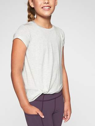 Athleta Girl Hip Knot-ic Tee