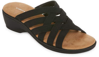 ST. JOHN'S BAY Inez Womens Slide Sandals