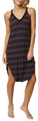 O'Neill Lunara Stripe Midi Dress