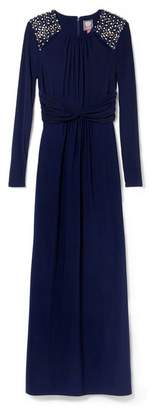 Vince Camuto Jersey Embellished Gown
