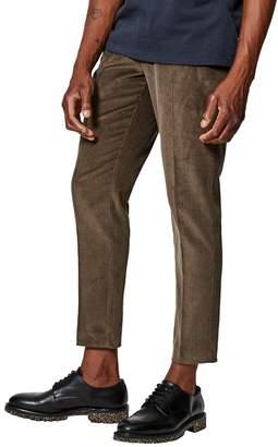 Burton - Khaki Tyrel Cord Tapered Trousers