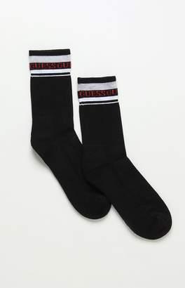 Guess Gym Stripe Sport Crew Socks
