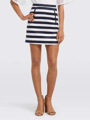 Draper James Stripe Mini Skirt