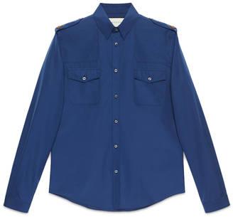 Cotton military Duke shirt $600 thestylecure.com