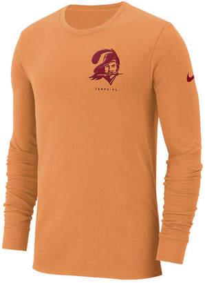 Nike Men Tampa Bay Buccaneers Heavyweight Seal Long Sleeve T-Shirt