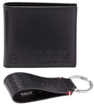 Bally Bally Bold Wallet & Key Chain Gift Box