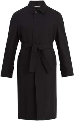Stella McCartney Point-collar wool-twill trench coat