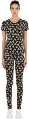 Moschino Underbear Jersey Pajama Top & Pants