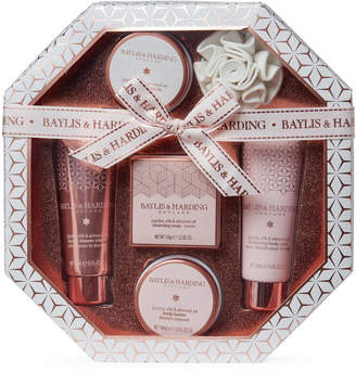 Baylis & Harding 6-piece Jojoba Silk & Almond Body Care Gift Set