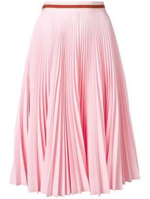 Calvin Klein high waist pleated skirt