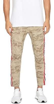 NXP Sergeant Camouflage Stripe Slim Fit Moto Pants