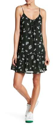 Current/Elliott The Strappy Flower Print Cami Dress