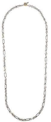 David Yurman Figaro Chain Necklace