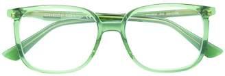 Gucci clear wayfarer glasses
