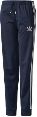 adidas Older Girls 3 Stripe Pant