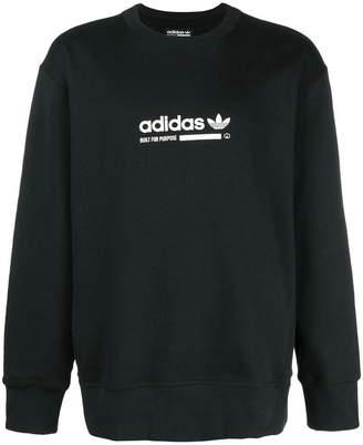 adidas printed logo sweatshirt