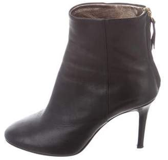 Isabel Marant Round-Toe Ankle Boots Black Round-Toe Ankle Boots