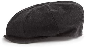 Reiss EDWARD CHRISTYS' BAKER BOY CAP Charcoal