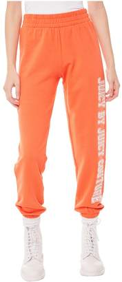 Juicy Couture Jxjc Collegiate Logo Terry Pant