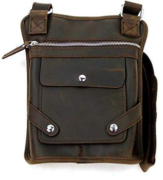 Vagabond Traveler Leather Pouch Kindle Sling Bag