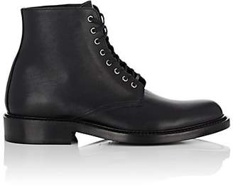Saint Laurent Women's Army Leather Ankle Boots - Black