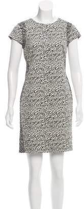 Diane von Furstenberg Pele Snake Wave Jacquard Dress
