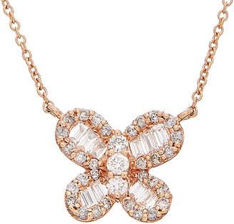 Effy Fine Jewelry 14K Rose Gold 0.45 Ct. Tw. Diamond Necklace