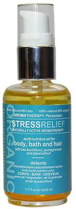 Nuworld Botanicals Stress Relief 3-in-1 Multi-Nutritive Oil for Body, Bath and Hair