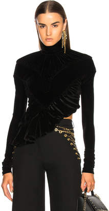 Y/Project Y Project Ruched Turtleneck Top