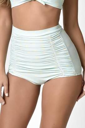 Unique Vintage High Waisted Bikini-Bottom