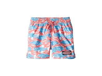 a1cdfb1e04 Vineyard Vines Kids Swimming with Fish Chappy Trunks (Toddler Little Kids Big  Kids