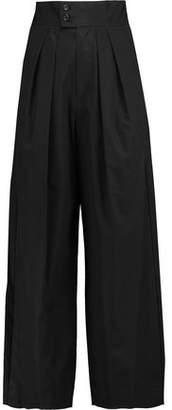 Isabel Marant Leroy Cotton Wide-Leg Pants
