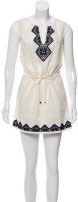 Tory Burch Linen Sleeveless Dress