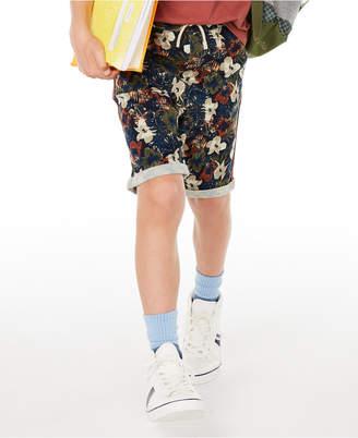 Epic Threads Big Boys Stretch Floral Twill Shorts