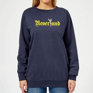 Disney Peter Pan Tinkerbell Neverland Women's Sweatshirt