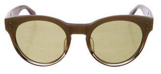 MAISON KITSUNÉ x Oliver Peoples Round Tinted Sunglasses
