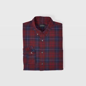 Club Monaco Slim Winter Plaid Shirt