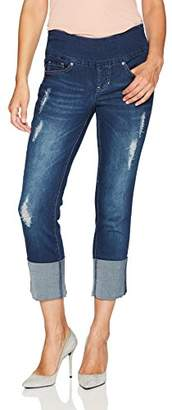 Jag Jeans Women's Lewis Straight Cuffed Pull
