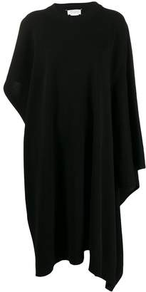 Maison Margiela asymmetric knitted dress