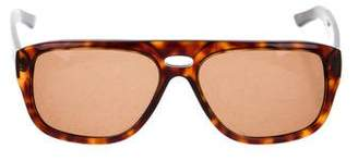 Gucci Tortoise Aviator Sunglasses