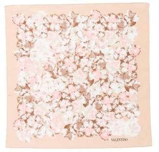 Valentino Floral Printed Handkerchief